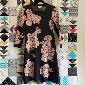 Calvin Klein rose sweater dress